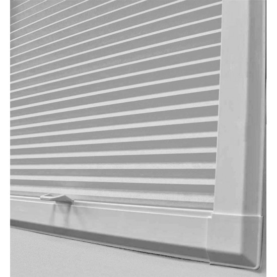 Disco Blackout White Perfect Fit Cellular Blind
