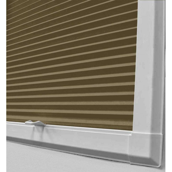 Disco Ochre Perfect Fit Cellular Blind