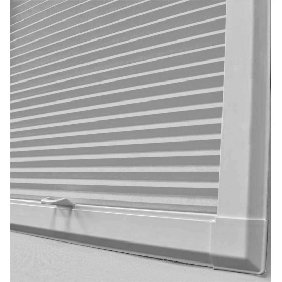 Fiona Steely Grey Perfect Fit Cellular Blind
