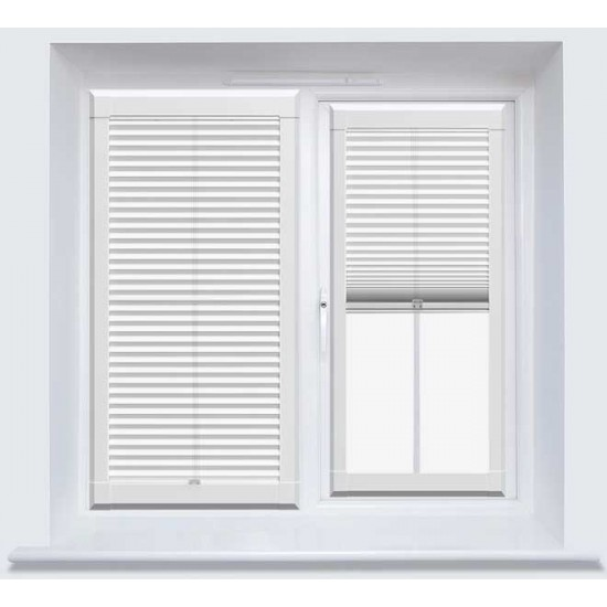 Fiona Pure White Perfect Fit Cellular Blind