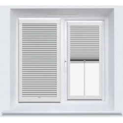 Hive Blackout FR White Perfect Fit Cellular Blind