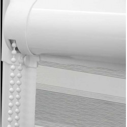 Aura Silver Perfect Fit Day & Night Blind