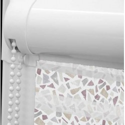 Terrazzo Burgundy Perfect Fit Day & Night Blind
