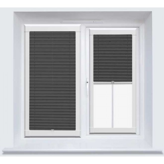 Infusion ASC Black Perfect Fit Pleated Blind