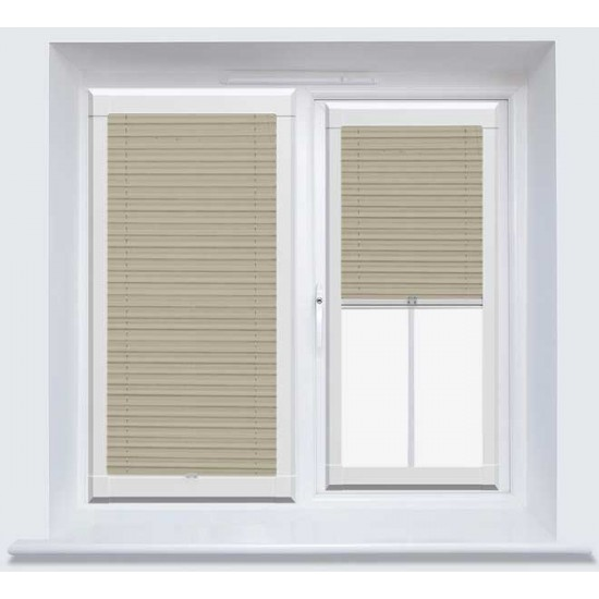 Infusion Beige Perfect Fit Pleated Blind