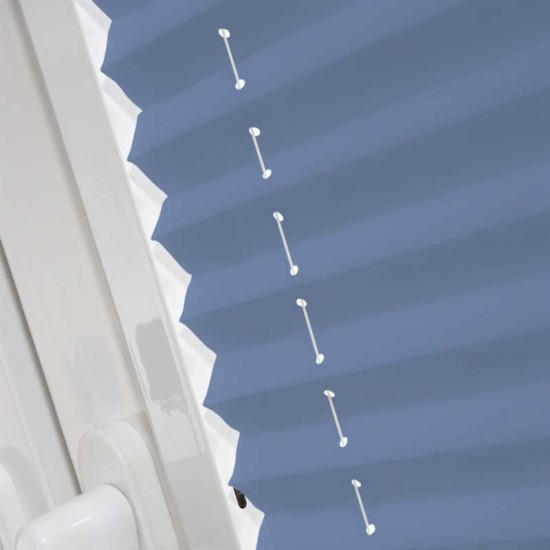 Infusion ASC Glacier Blue Perfect Fit Pleated Blind