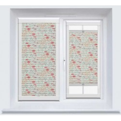 Meadow Flower ASC Redcurrant Perfect Fit Pleated Blind