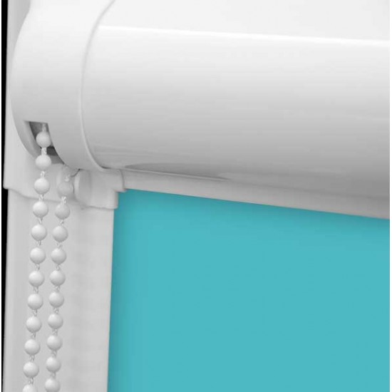 Polaris Blackout Teal Perfect Fit Roller Blind
