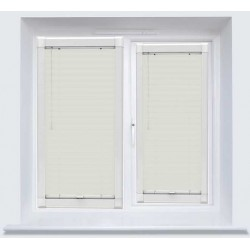 Cotton White Perfect Fit 25mm Venetian Blind