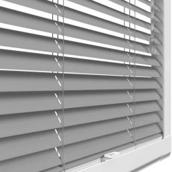 Brushed Silver Perfect Fit 25mm Venetian Blind