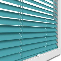 Teal Perfect Fit 25mm Venetian Blind